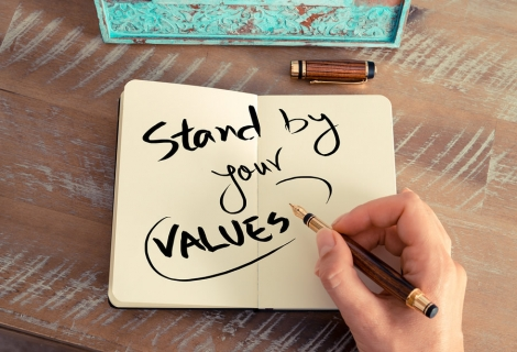Are Your Actions consistent with Your Values