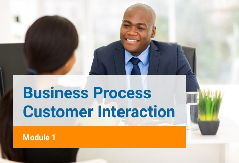 Business Process Customer Interraction Module 1