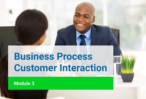Business Process Customer Interraction Module 3